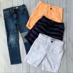 🚗 4T Boys Shorts and 1 Jeans Bundle